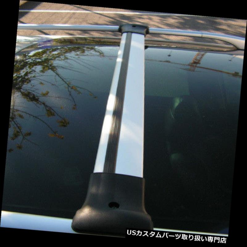 キャリア Aluクロスバーレールはシトロエンベリンゴに合うようにルーフサイドバーに合うように設定(1996-08) Alu Cross Bar Rail Set To Fit Roof Side Bars To Fit Citroen Berlingo (1996-08)