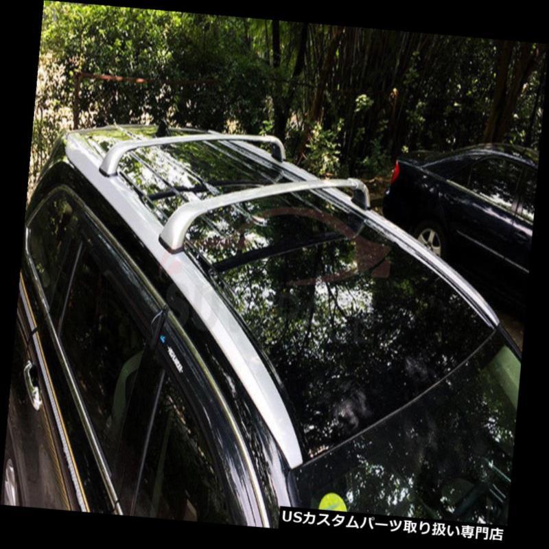 キャリア トヨタハイランダークルーガー2014-2018手荷物ルーフラックレールクロスバー4本入 Fit for Toyota Highlander Kluger 2014-2018 Baggage Roof Rack Rail Cross Bar 4PCS