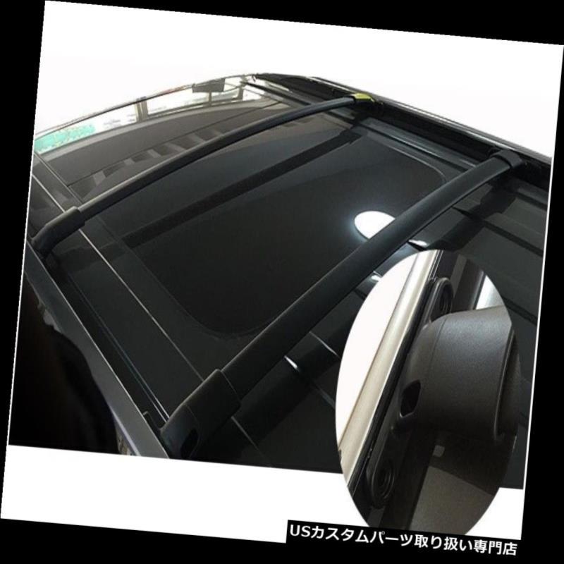 キャリア 2Pcsはフォードエクスプローラー2011-2015のために合います2Pcsルーフラックレールクロスバークロスバー 2Pcs fits for Ford Explorer 2011-2015 2Pcs roof rack rail cross bar crossbar