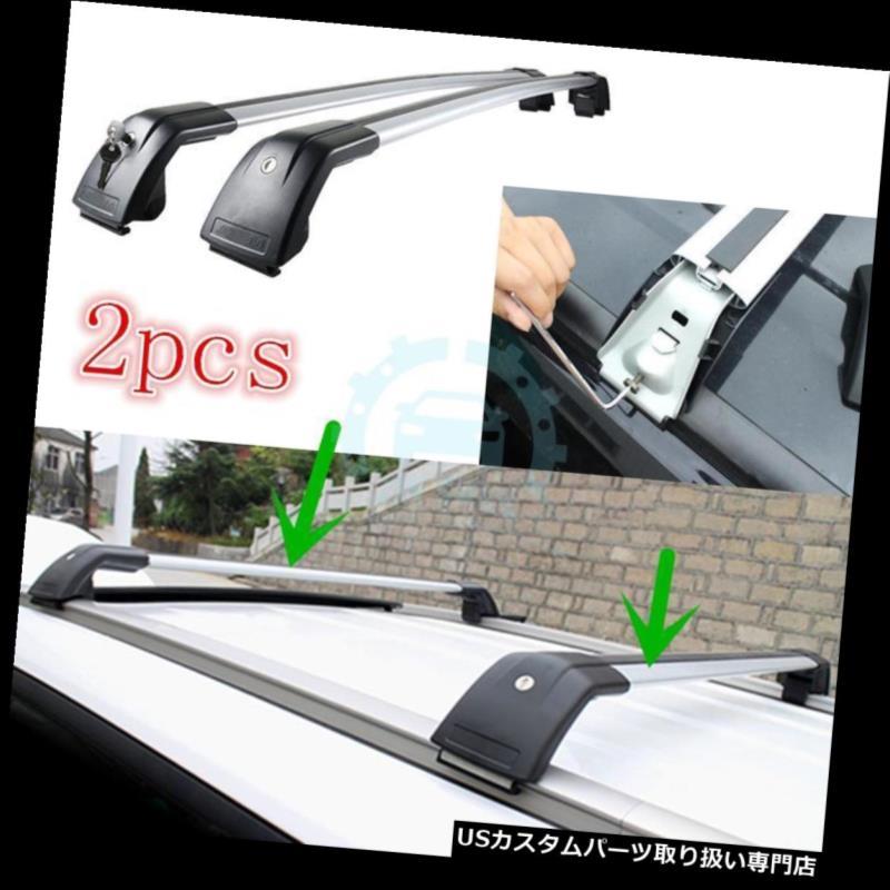 キャリア シボレーキャプティバ2008-2015年のための2x車のルーフキャリアバーパーセルラック交換 2x Car Roof Carriers Bar Parcel Rack Replace For Chevrolet Captiva 2008-2015