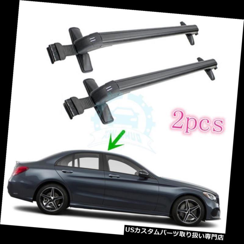キャリア レクサスCT200H 2011-2016のための2個のオーバーヘッド荷物ラック車のルーフキャリアトリム 2Pcs Overhead Luggage Rack Cars Roof Carriers Trims For Lexus CT200H 2011-2016