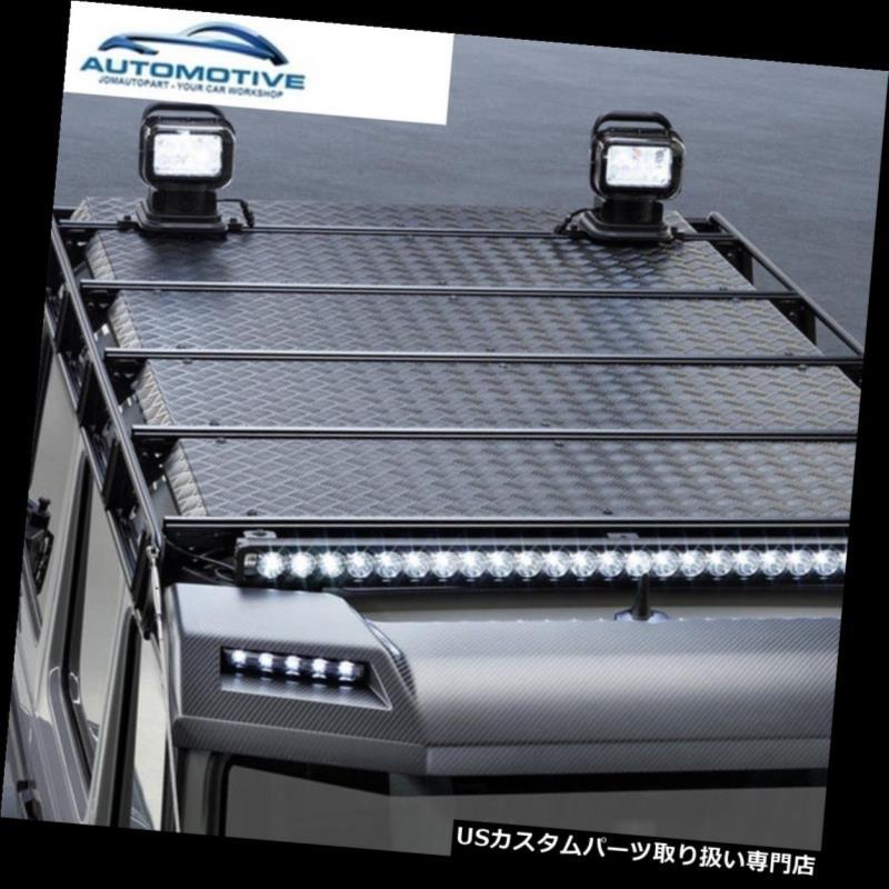 キャリア ベンツGクラスW463ルーフラックレールクロスバー荷物G500 G350 G63用 For Benz G class W463 Roof Rack Rail Cross Bar Luggage G500 G350 G63