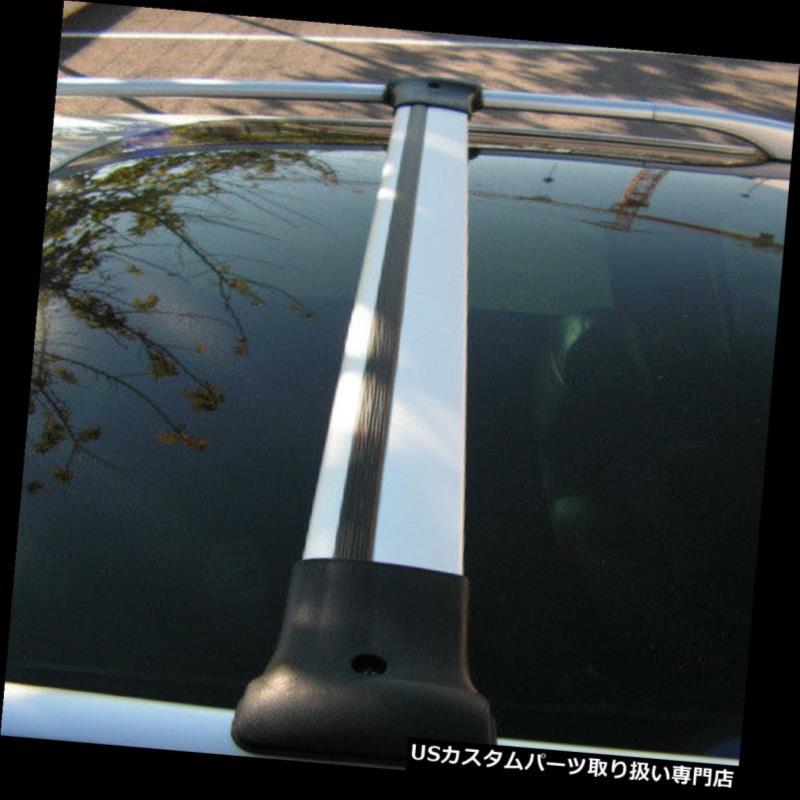 キャリア Aluクロスバーレールはフィアットフィオリーノに合うようにルーフサイドバーに合うように設定(2007+) Alu Cross Bar Rail Set To Fit Roof Side Bars To Fit Fiat Fiorino (2007+)