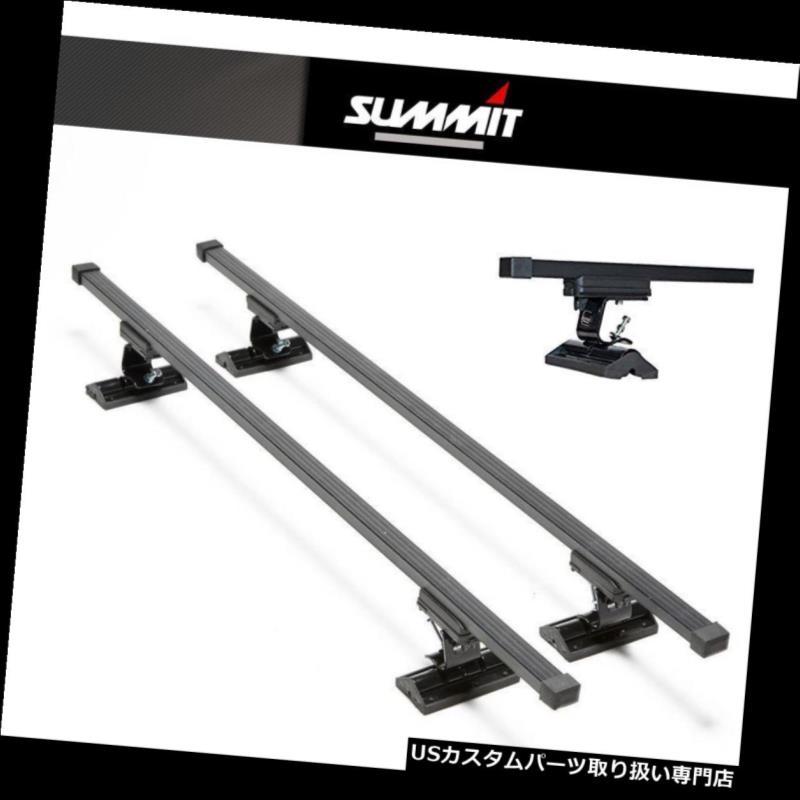 キャリア 鈴木キサシ2010-2013 4ルーフラックセット用クロスポイント Roof Rack Cross Bars Set For SUZUKI KIZASHI 2010-2013 4 DOOR WITH Fix Point