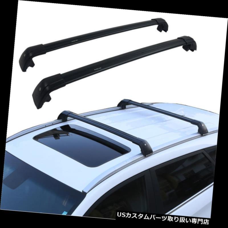 2 PCS US Stock Black Cross Bar for Mazda CX-5 CX5 2017-2018 Roof Rack Rail