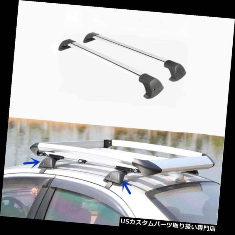 キャリア BMW X4 2013-2016のための2PCS新しいアルミ合金のルーフラッククロスバー 2PCS New Aluminium Alloy Roof Rack Cross Bars For BMW X4 2013-2016