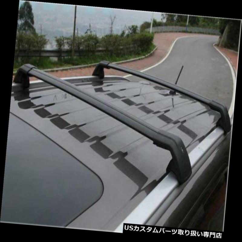 キャリア ポルシェマカンSターボ2014-17手荷物ルーフラックレールクロスバークロスバーN用 For Porsche Macan S Turbo 2014-17 baggage roof rack rail cross bar crossbar N