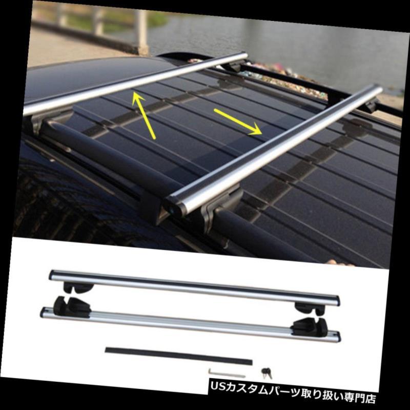 キャリア シボレー・トラックス2014-16用のセット銀色のアルミ合金のルーフラッククロスバーセット A Set Silvery Aluminum alloy Roof Rack Cross Bar Set For Chevrolet Trax 2014-16