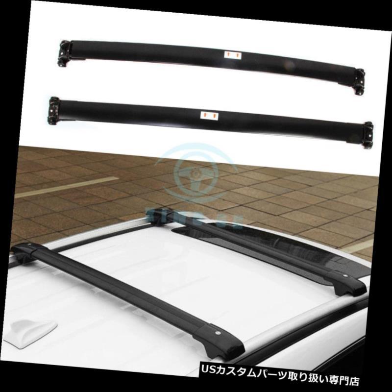 キャリア トヨタハイランダークルーガー2014-17用車のルーフラックレール荷物キャリアクロスバー Car Roof Rack Rail luggage Carrier Crossbar For Toyota Highlander Kluger 2014-17