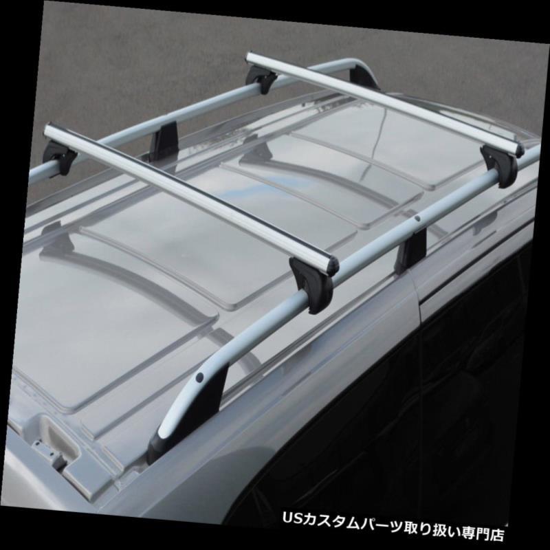 キャリア フォルクスワーゲンカラベル(04-15)100KGにロックできるルーフレール用クロスバー Cross Bars For Roof Rails To Fit Volkswagen Caravelle (04-15) 100KG Lockable