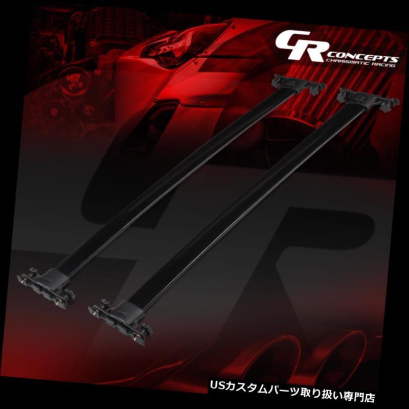 キャリア アルミルーフラックレールクロスバーキャリアキャリア01-07トヨタハイランド ALUMINUM ROOF RACK RAIL CROSS BAR BAGGAGE CARRIER FOR 01-07 TOYOTA HIGHLANDER