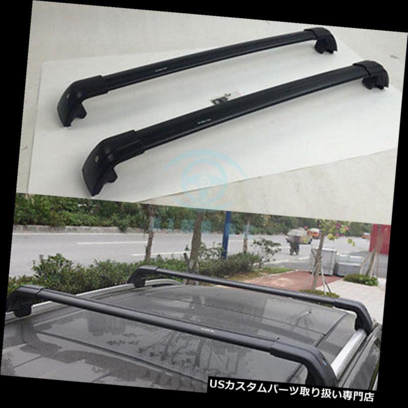 キャリア フォルクスワーゲンVW Tiguan allspace LWB SWB 2017-18ルーフラックレールクロスバー用 For Volkswagen VW Tiguan allspace LWB SWB 2017-18 roof rack rail cross bar