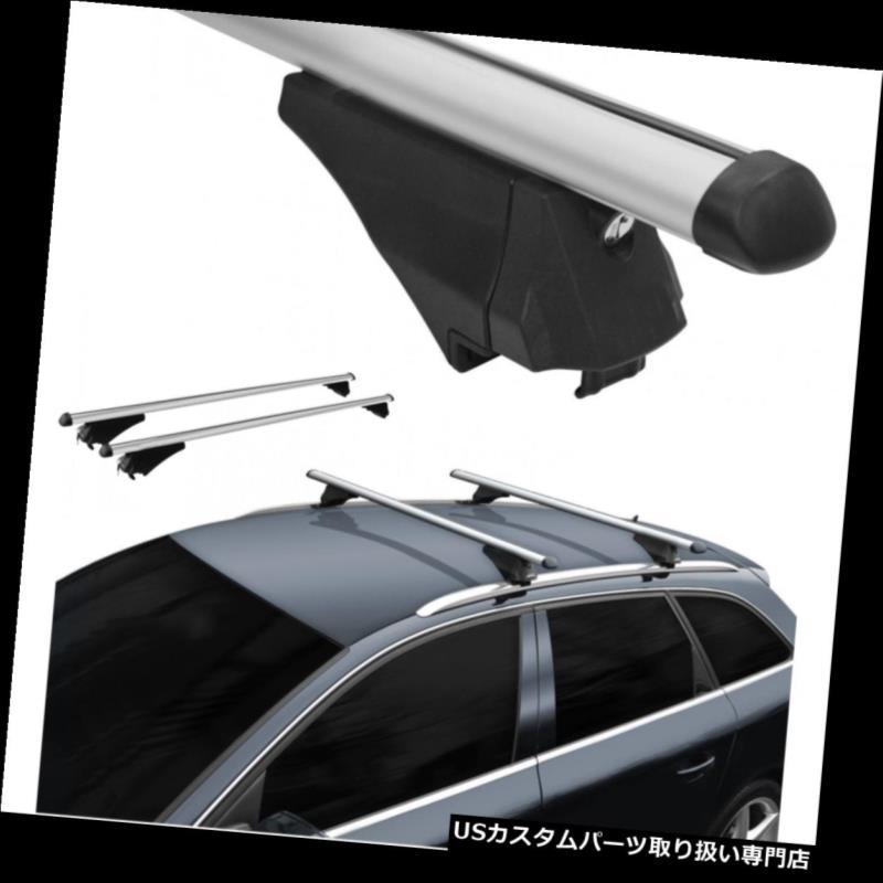 キャリア ルーフラッククロスバー空力アルミロックはスバルフォレスター2013にフィット Roof Rack Cross Bars Aerodynamic Aluminum Locking fits Subaru Forester 2013 on