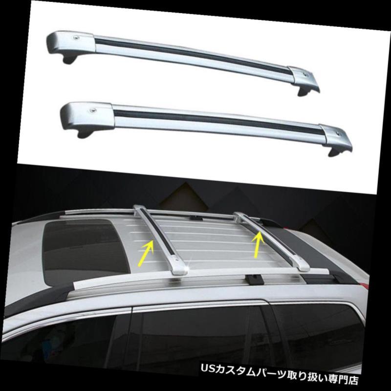 キャリア レクサスRX350 2010-2015ユニバーサルカートップルーフラッククロスバー荷物キャリア用 for Lexus RX350 2010-2015 Universal Car Top Roof Rack Cross Bars Luggage Carrier