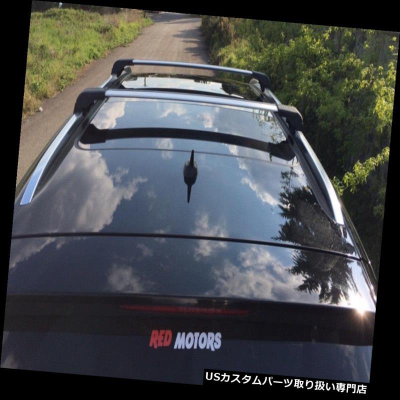 キャリア HYUNDAI SANTA FE 2013-2018クロスバートップクロスレールロックアジャスタブル用 for HYUNDAI SANTA FE 2013-2018 CROSS BARS TOP cross RAILS LOCKABLE ADJUSTABLE