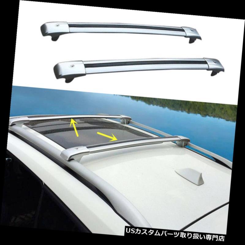 キャリア レクサスRX300 2004-2006ユニバーサルカートップルーフラッククロスバー荷物キャリア用 for Lexus RX300 2004-2006 Universal Car Top Roof Rack Cross Bars Luggage Carrier