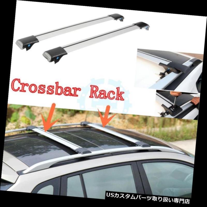 キャリア ホンダクロスツアー2011-2016用車のルーフラッククロスバーラック手荷物ホルダー Car Roof Rack Crossbar Racks Baggage Holder for Honda Crosstour 2011-2016