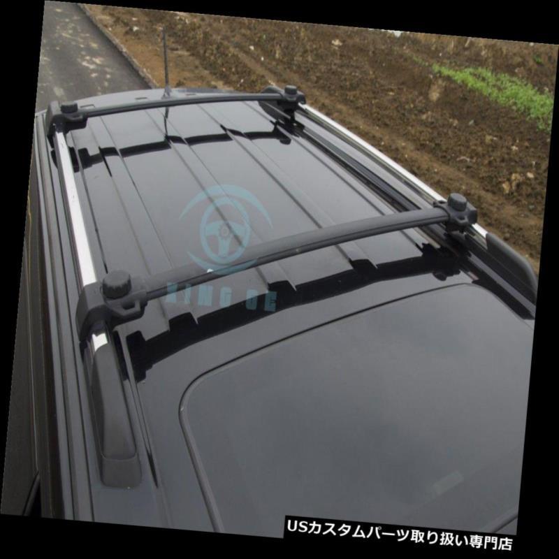 キャリア Dodge Journey JCUV 13-16アルミルーフラゲッジラゲッジラックレールクロスバー用 For Dodge Journey JCUV 13-16 aluminium roof luggage baggage rack rail crossbar