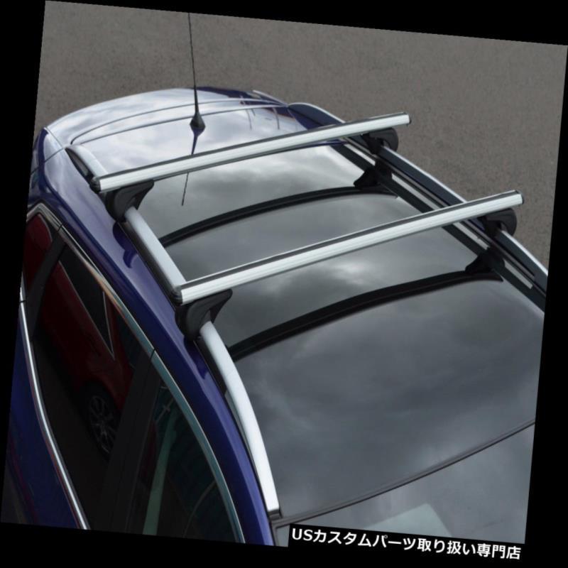 キャリア ロック可能なフォルクスワーゲンゴルフVII(2012+)100KGに合うようにルーフレール用のクロスバー Cross Bars For Roof Rails To Fit Volkswagen Golf VII (2012+) 100KG Lockable