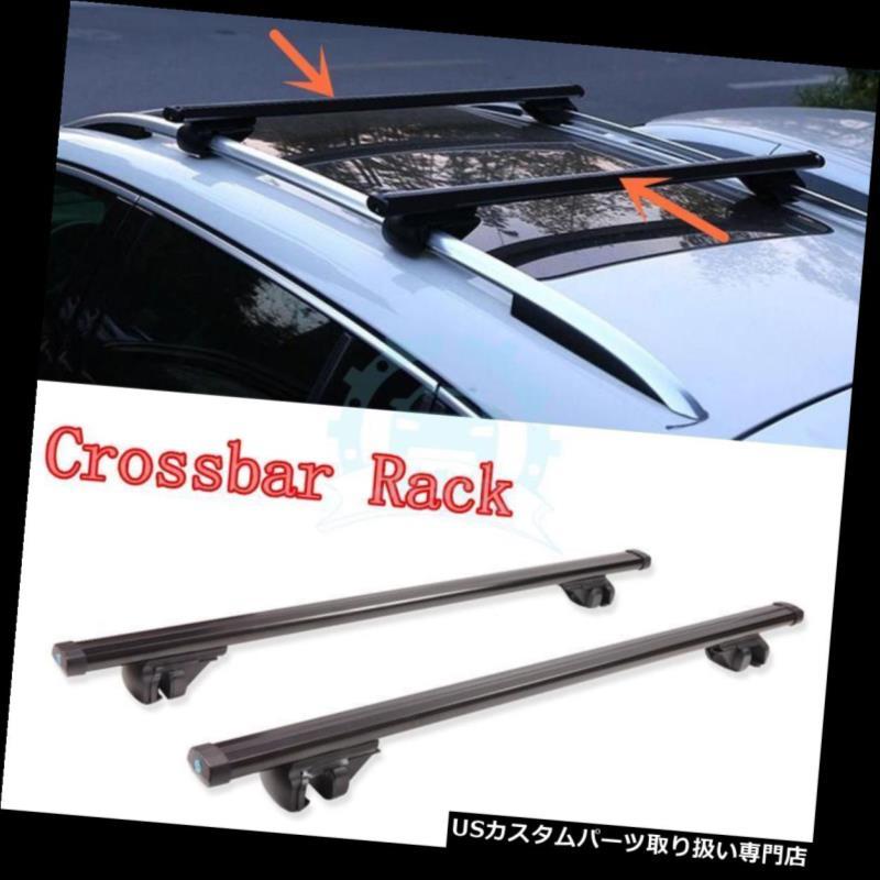 キャリア トヨタRAV4用プラスチック+アルミ um合金ルーフクロスバーラゲッジラックトリム1996-12 Plastic+Aluminum Alloy Roof Crossbars Luggage Racks Trim for Toyota RAV4 1996-12