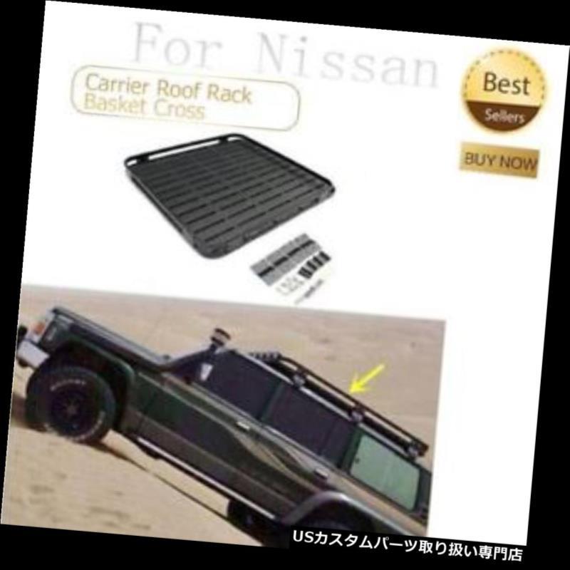 キャリア 日産PATROL Y60 Y61 2010-2016自動車用キャリアルーフラックバスケットクロスバー車用 For Nissan PATROL Y60 Y61 2010-2016 Car Carrier Roof Rack Basket Cross Bar Car