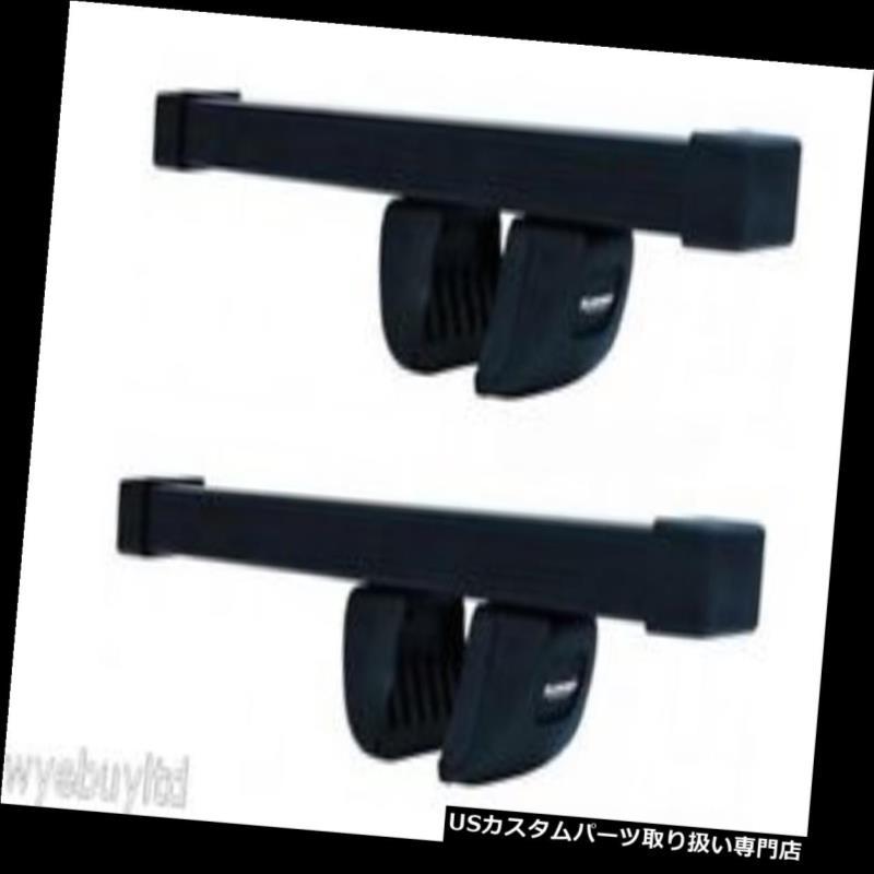 キャリア ルーフバーラック5ドアDaewoo musso 2000年から2005年までのルーフクロスバーs 520 Roof bars rack for a 5 door Daewoo musso 2000 to 2005 roof cross bars s520
