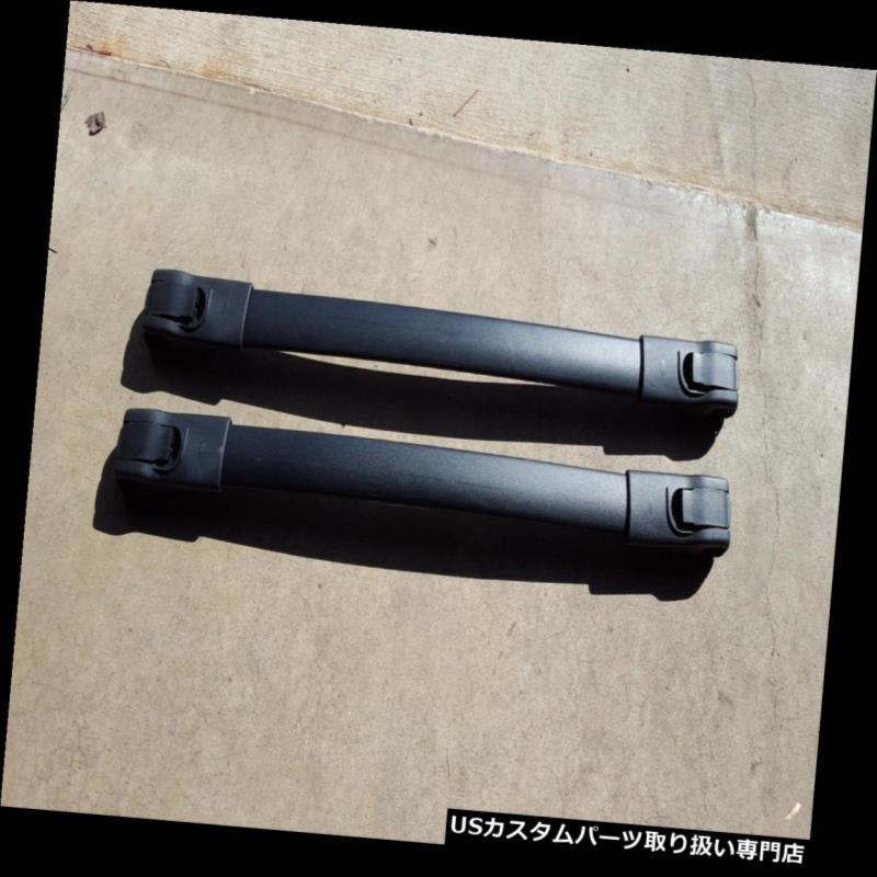 キャリア 新しいOEM 2006 - 2008年KIAセドナルーフラッククロスバーセットwハードウェア NEW OEM 2006-2008 KIA Sedona Roof Rack Crossbar Set w Hardware
