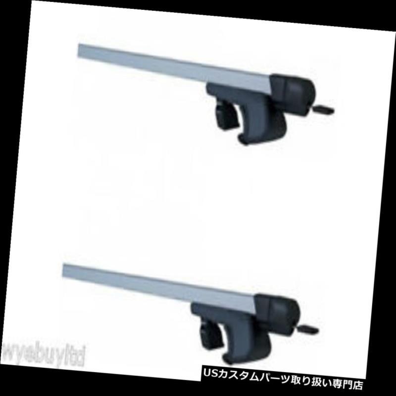 キャリア 5ドア用ロック可能なルーフラックバーAlfa romeo 159 sw 2006-2011クロスバーs510 Lockable roof rack bars for a 5 door Alfa romeo 159 sw 2006-2011 cross bars s510