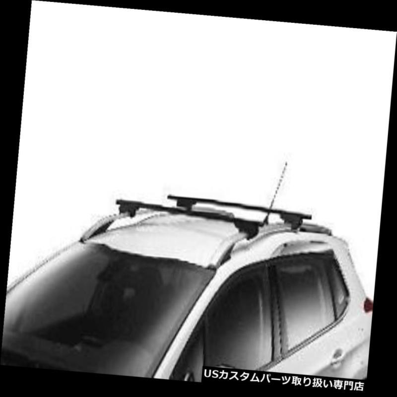 キャリア プジョー2008スチールルーフ横クロスバーペア新しい本物1608474680 Peugeot 2008 Steel Roof Transverse Cross Bars Pair New Genuine 1608474680
