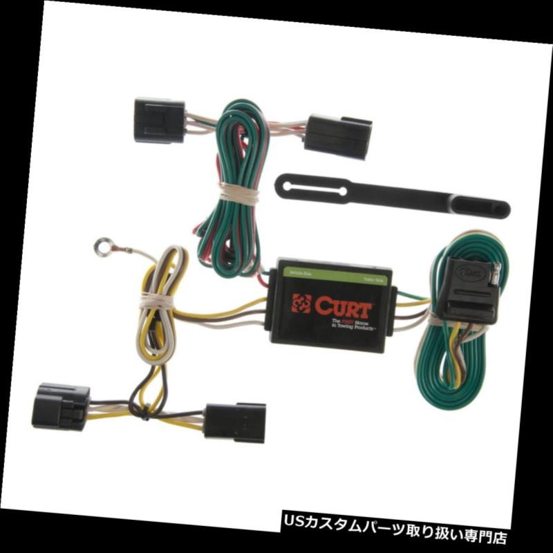 ヒッチメンバー Isuzu Amigo / Rodeo / Pa スポーツ用カートトレーラーカスタムヒッチ配線コネクター55360 Curt Trailer Custom Hitch Wiring Connector 55360 for Isuzu Amigo/Rodeo/Passport