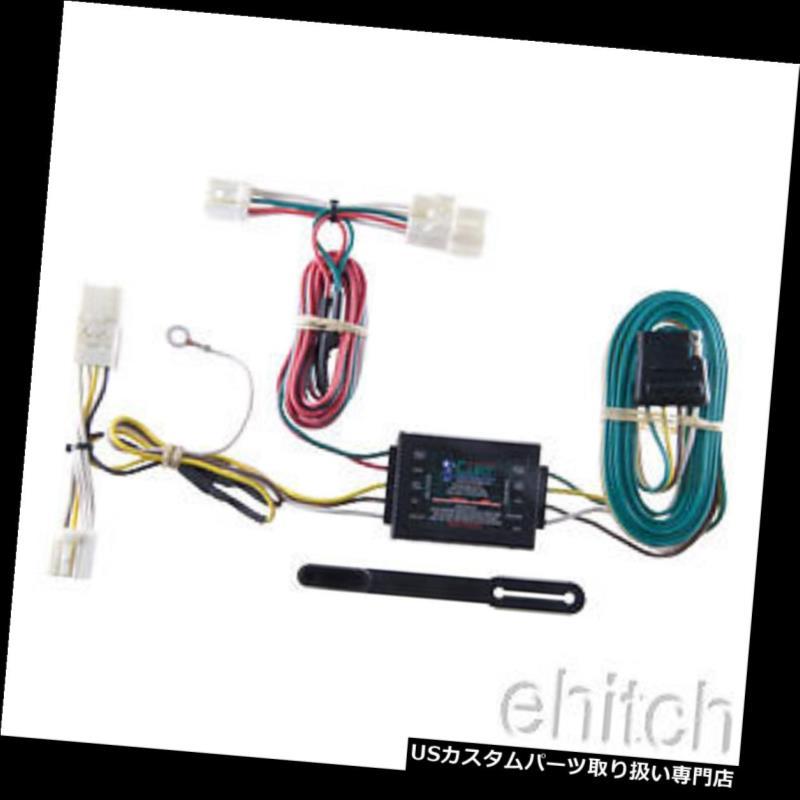 ヒッチメンバー Scion xD用カートトレーラーヒッチカスタム配線ハーネスコンバーター56136 Curt Trailer Hitch Custom Wiring Harness Converter 56136 for Scion xD