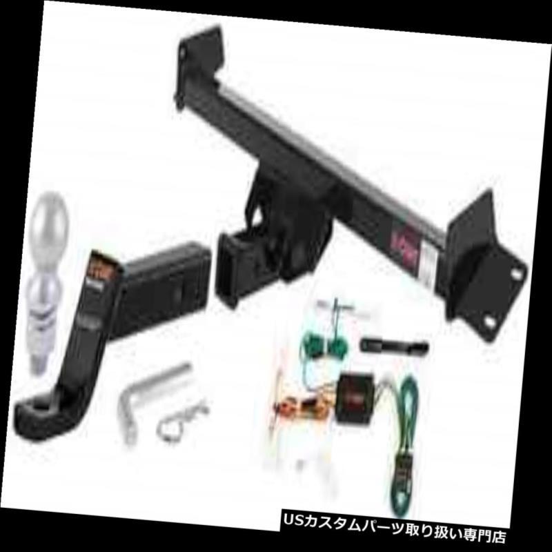 ヒッチメンバー カートクラス3レシーバーヒッチ& A 98-03トヨタシエナのための完全な牽引パッケージ Curt Class 3 Receiver Hitch & Complete Tow Package for 98-03 Toyota Sienna