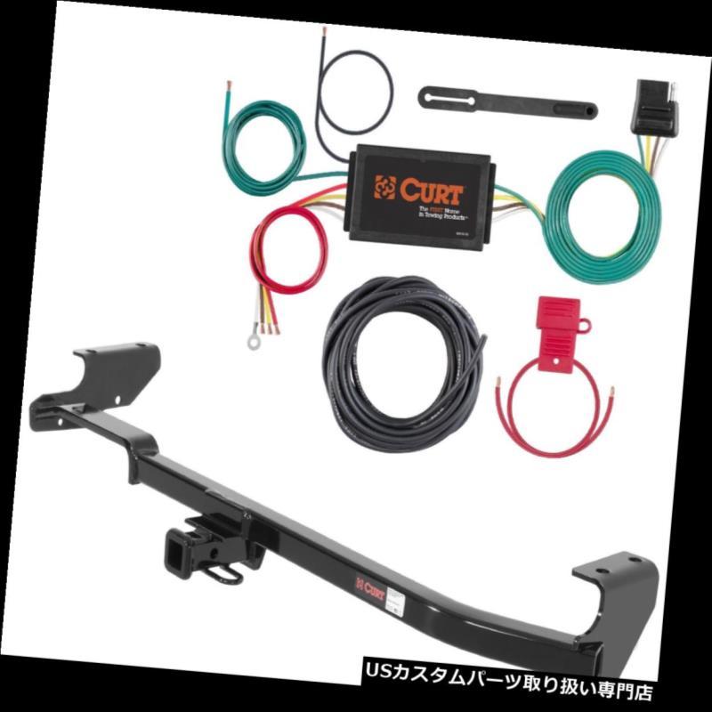 ヒッチメンバー カートクラス1トレーラーヒッチ& A スバルインプレッサ用3:2ワイヤーテールライトコンバーター Curt Class 1 Trailer Hitch & 3-to-2 Wire Taillight Converter for Subaru Impreza