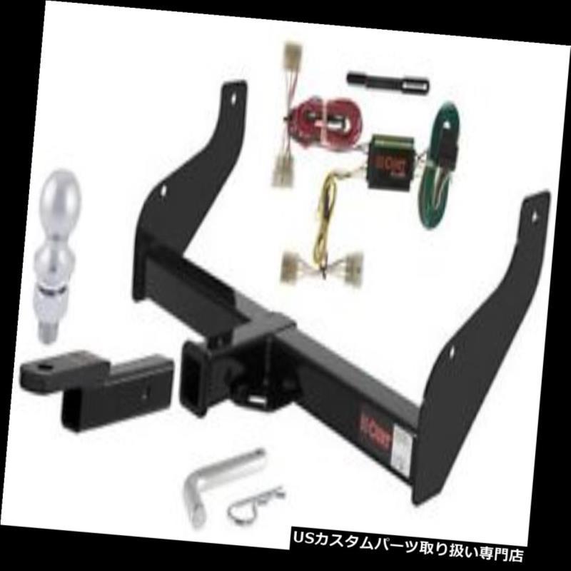 ヒッチメンバー 98-02 Kia Sportage用カート3級トレーラーヒッチトウパッケージ Curt Class 3 Trailer Hitch Tow Package for 98-02 Kia Sportage