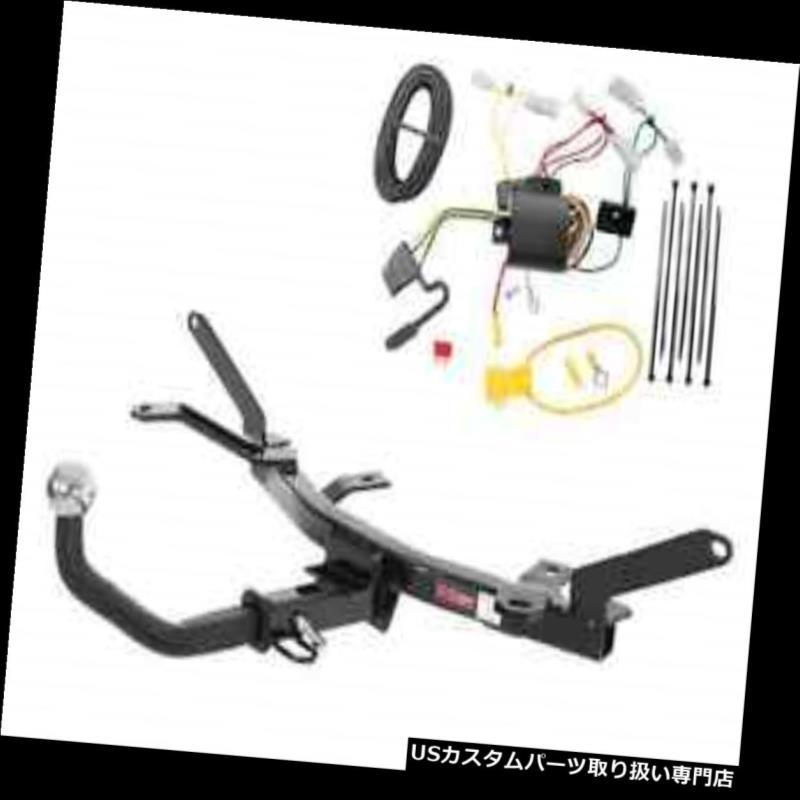 ヒッチメンバー カートクラス1トレーラーヒッチ& A Tekonsha W / 2インチEuromount for Mazda 6 Curt Class 1 Trailer Hitch & Tekonsha Wiring w/ 2