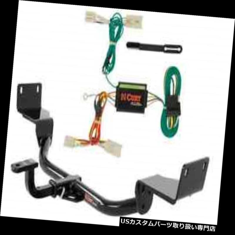 ヒッチメンバー カートクラス1トレーラーヒッチ& A Kia Forte Koup用の配線 Curt Class 1 Trailer Hitch & Wiring for Kia Forte Koup