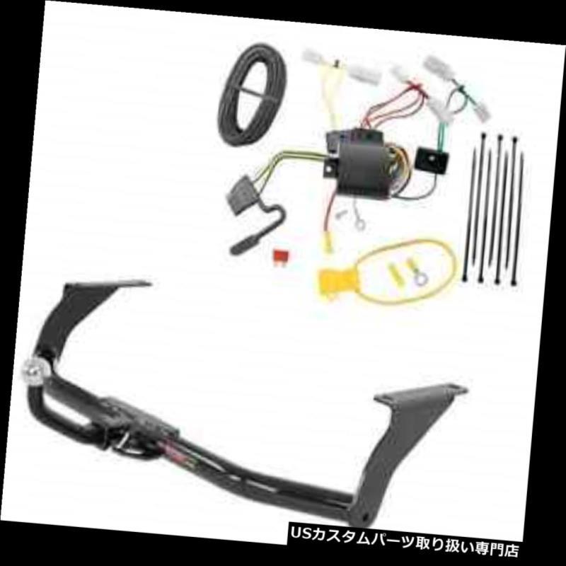 ヒッチメンバー カートクラス1トレーラーヒッチ& A Tekonsha W / 2インチEuromount for Mazda 3 Curt Class 1 Trailer Hitch & Tekonsha Wiring w/ 2