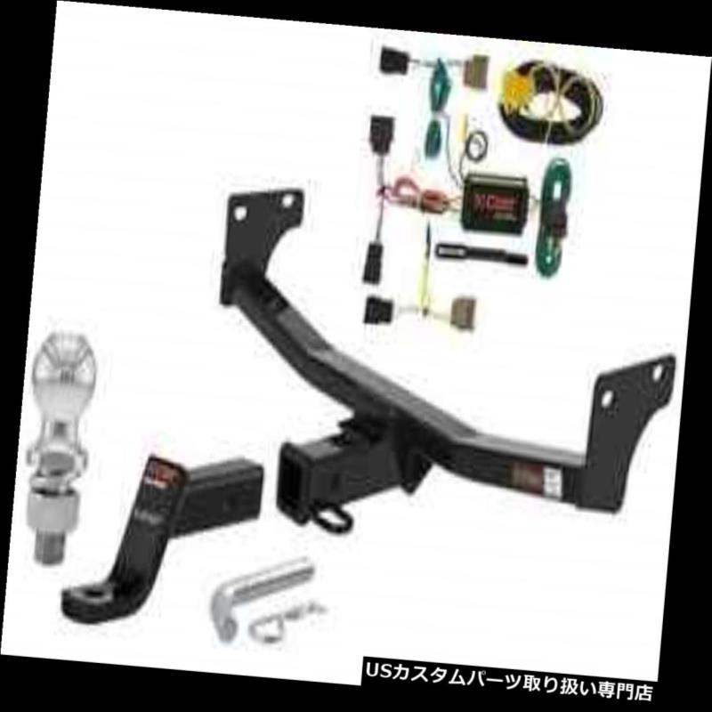 Package Hitch Compass/Patriot Trailer Curt Tow t ヒッチメンバー Class ジープコンパス/パトリオのカート3級トレーラーヒッチトウパッケージ Jeep 3 for
