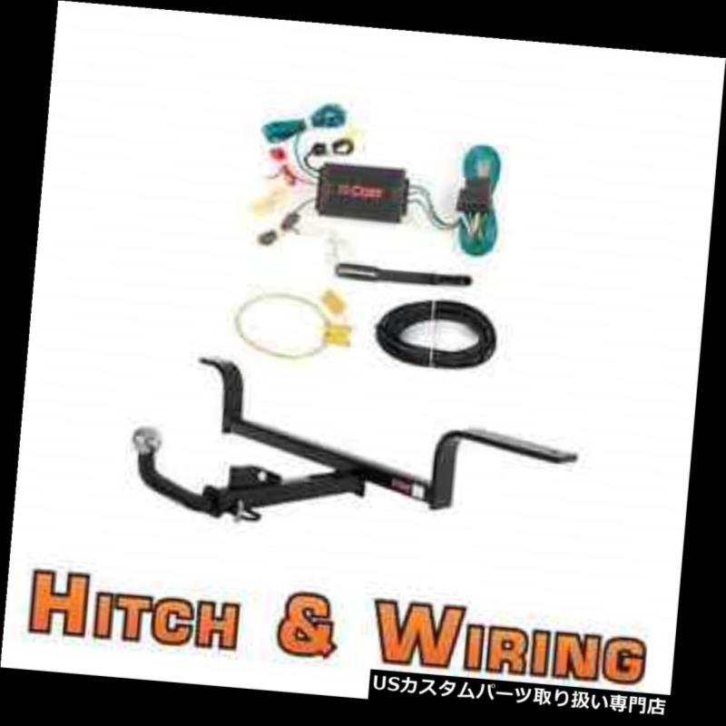 ヒッチメンバー カートクラス1トレーラーヒッチ& A 2002-2004 Acura RSX用ユーロキットw / 2インチ配線 Curt Class 1 Trailer Hitch & Wiring Euro kit w/ 2