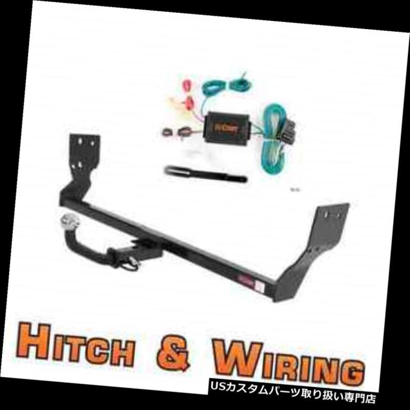 ヒッチメンバー カートクラス1トレーラーヒッチ& A 91-99 3000GTクーペ用2インチボール付きユーロキットの配線 Curt Class 1 Trailer Hitch & Wiring Euro kit w/ 2