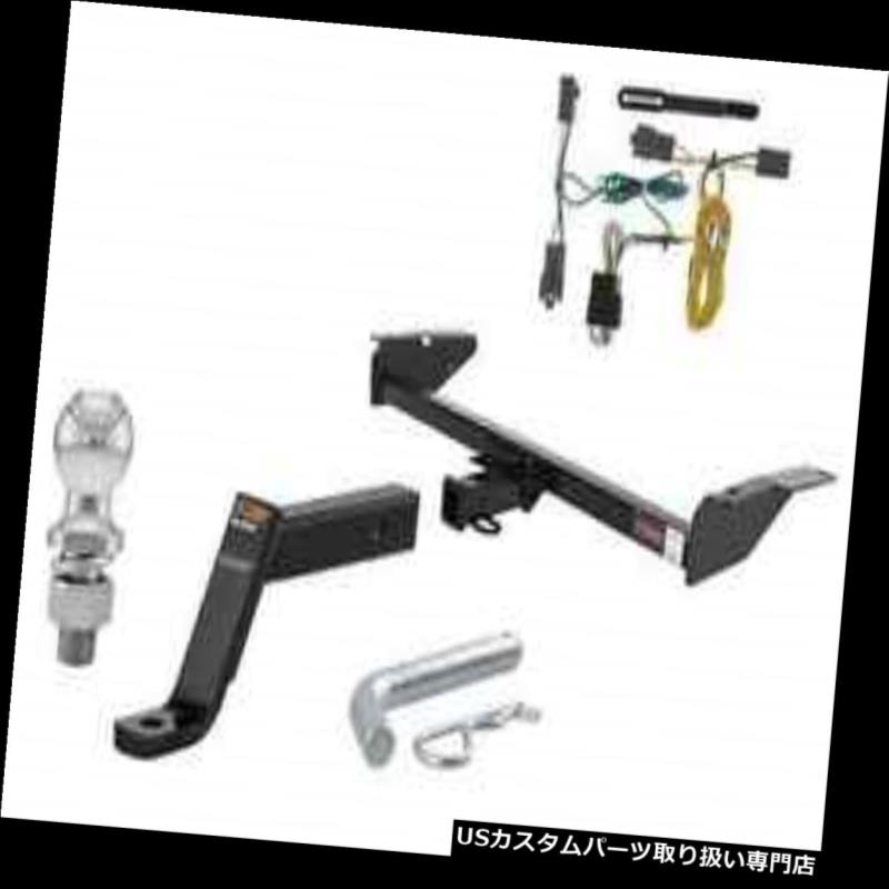 ヒッチメンバー LTD / Crown Victoria / Grand Marquis用カート3級トレーラーヒッチトウパッケージ Curt Class 3 Trailer Hitch Tow Package for LTD / Crown Victoria/ Grand Marquis