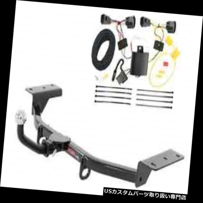 ヒッチメンバー カートクラス1トレーラーヒッチ& A Tekonsha W / 2インチEuromount for Ford Focus ST Curt Class 1 Trailer Hitch & Tekonsha Wiring w/ 2