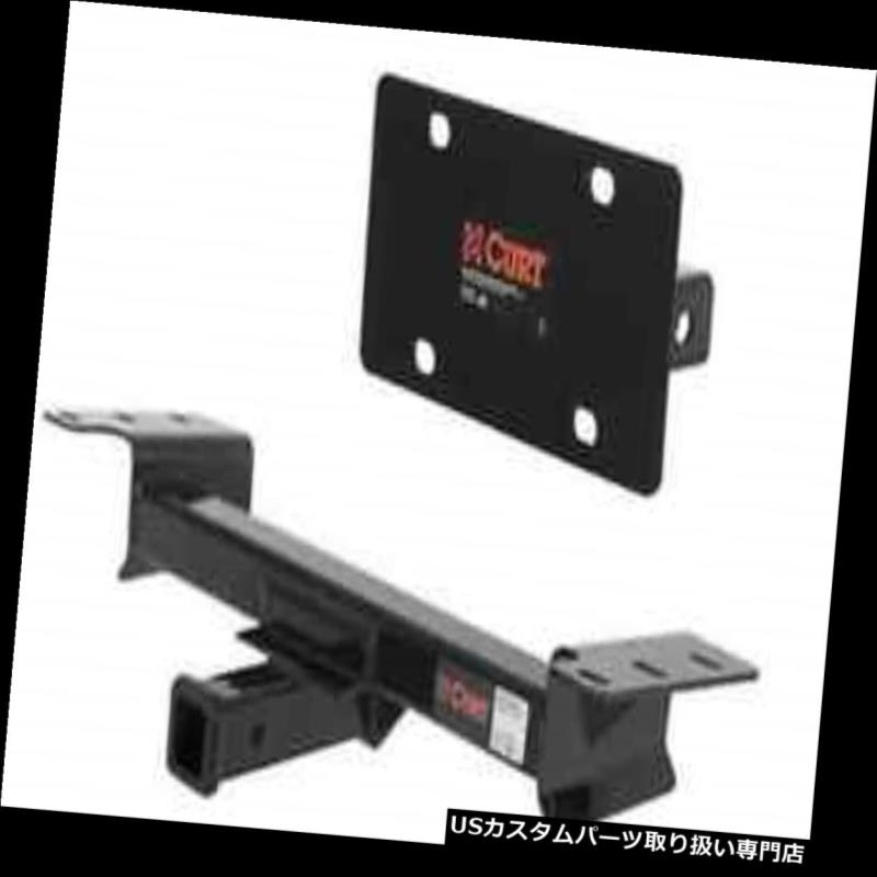 ヒッチメンバー Curt Front Mount Trailerヒッチ&アンプ 遠征用ナンバープレートホルダー/ F-1  50 Curt Front Mount Trailer Hitch & License Plate Holder for Expedition/F-150