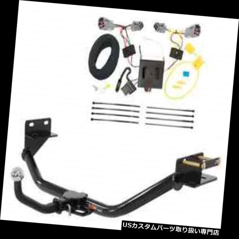 ヒッチメンバー カートクラス2トレーラーヒッチ& A Tekonsha W / 2インチEuromount for Santa Fe Sport Curt Class 2 Trailer Hitch & Tekonsha Wiring w/ 2