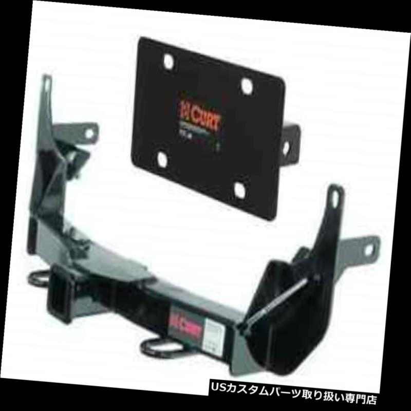 ヒッチメンバー Curt Front Mount Trailerヒッチ&アンプ Toyota 4Runner用ナンバープレートホルダー Curt Front Mount Trailer Hitch & License Plate Holder for Toyota 4Runner