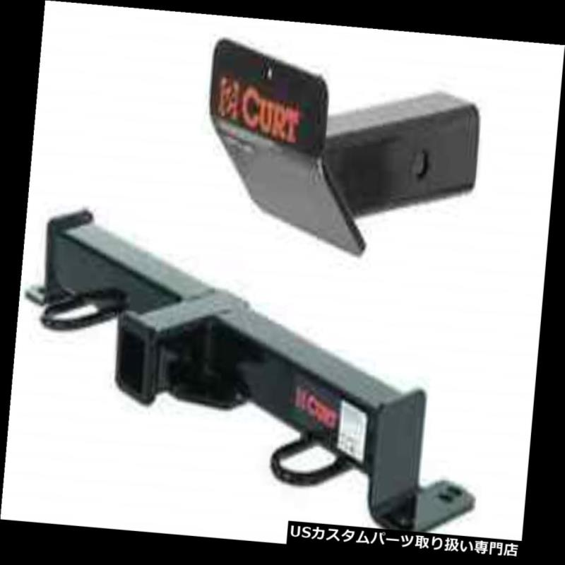 ヒッチメンバー Curt Front Mount Trailerヒッチ&アンプ ジープラングラーのスキッドシールド Curt Front Mount Trailer Hitch & Skid Shield for Jeep Wrangler