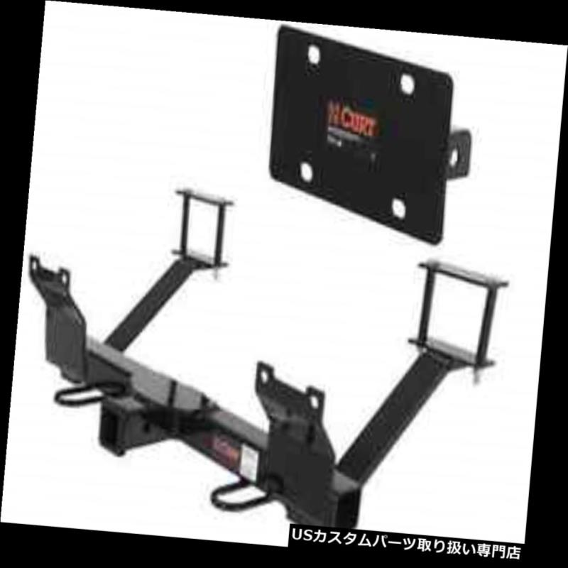 ヒッチメンバー Curt Front Mount Trailerヒッチ&アンプ ダッジダコタのナンバープレートホルダー Curt Front Mount Trailer Hitch & License Plate Holder for Dodge Dakota