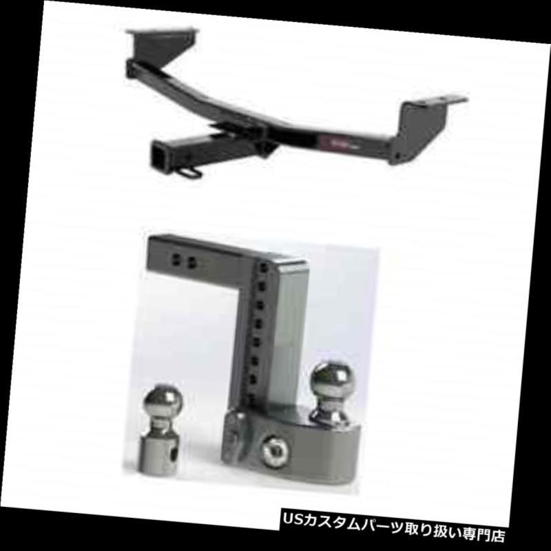 ヒッチメンバー カート3クラストレーラーヒッチw /安全な調整可能な8