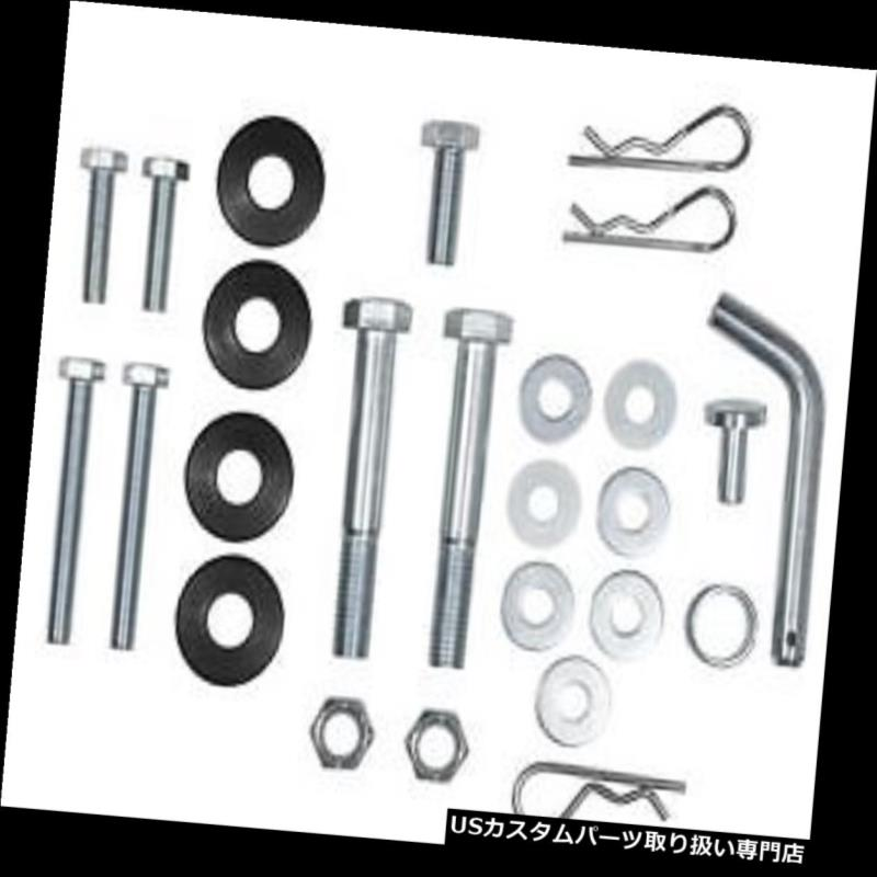 ヒッチメンバー Curt 17150ボルト/ハードウェアキット(丸棒用) Curt 17150 Bolt / Hardware Kit for Round Bar Weight Distribution Hitch