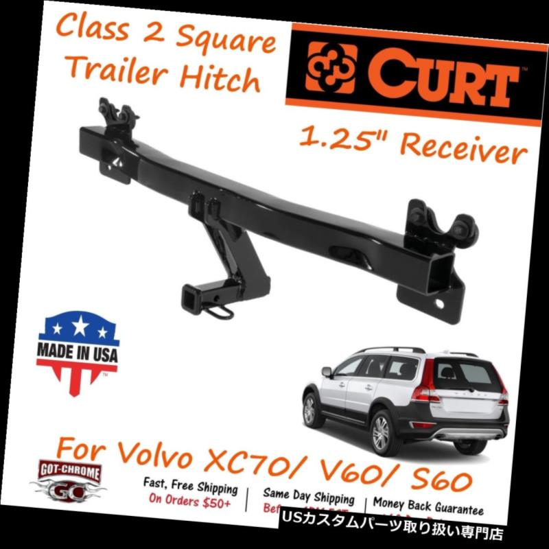 960 780 CURT 12209 Class 2 Trailer Hitch 1-1//4-Inch Receiver Select Volvo 740 940 760
